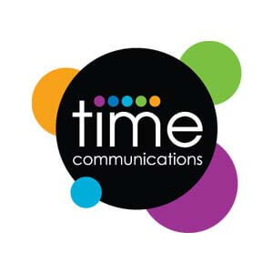 time communications logo